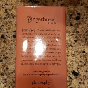 Philosophy for men/ Gingerbread man
